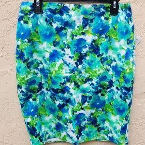 NWT F21Skirt with flowers